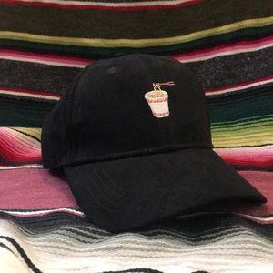 Cup of noodles hat